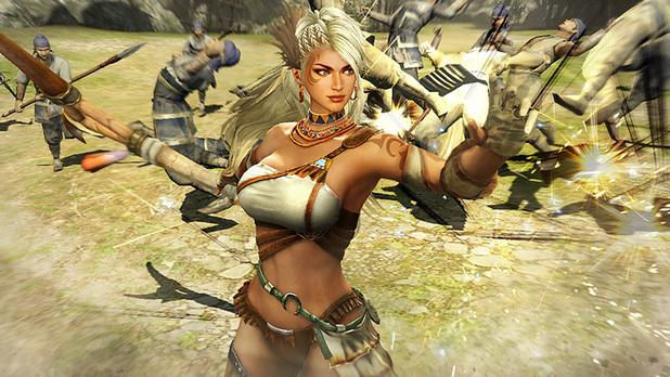 Screenshot from Dynasty Warriors 8