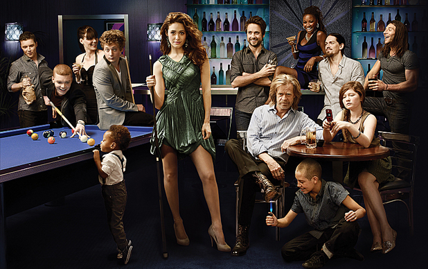 The cast of Shameless USA, Season 3