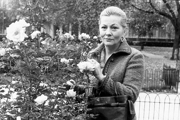 Joan Fontaine pictured in 1978