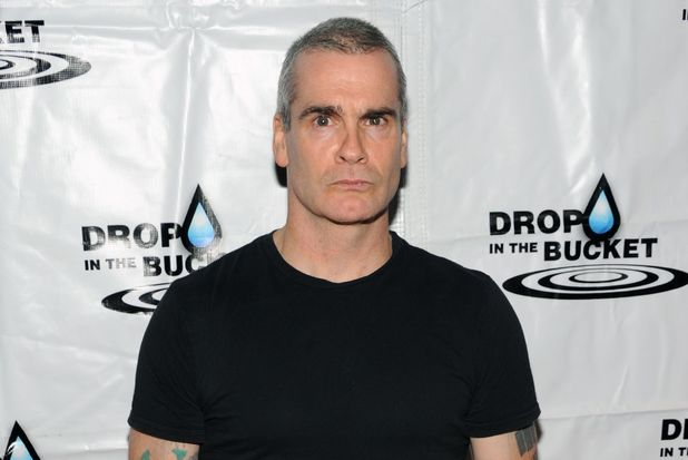 Henry Rollins at the Drop In The Bucket benefit concert at the Avalon Hollywood, Los Angeles