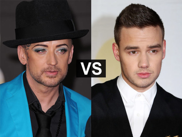 Showbiz Spats: Boy George and Liam Payne
