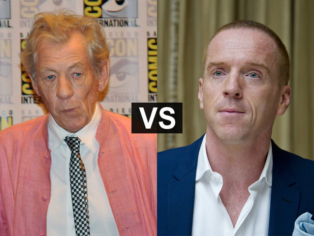 Showbiz Spats: Ian McKellen and Damian Lewis