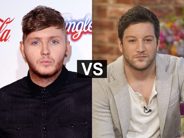 Showbiz Spats: James Arthur and Matt Cardle