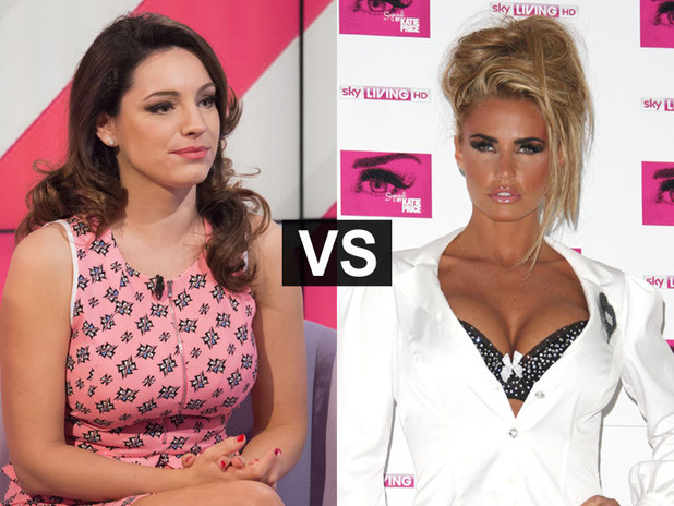 Showbiz Spats: Kelly Brook and Katie Price