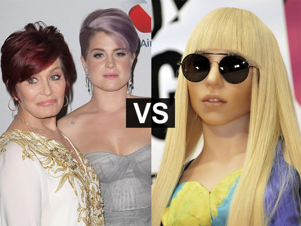 Showbiz Spats: Sharon and Kelly Osbourne and Lady Gaga
