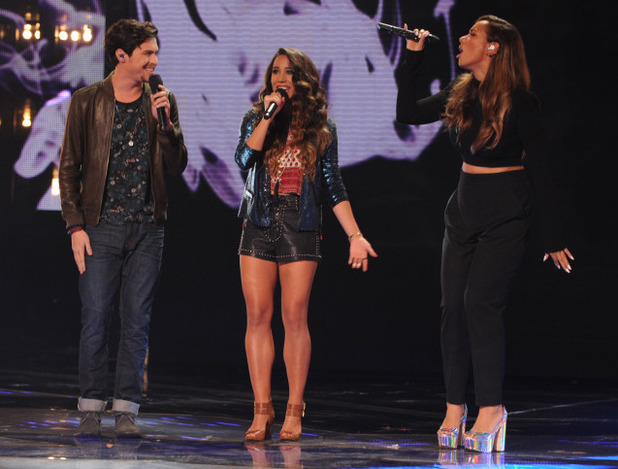 Alex & Sierra perform with Leona Lewis on The X Factor USA final