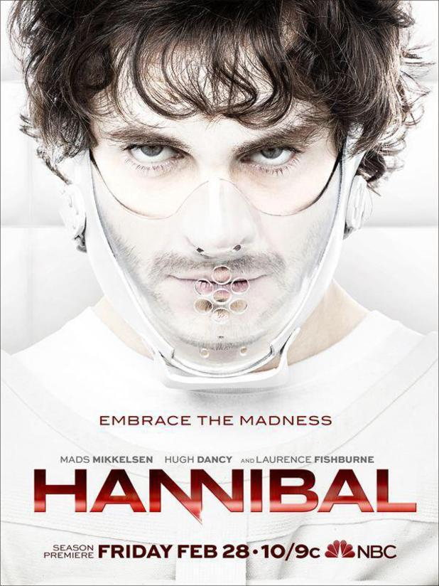 Hannibal season two air date poster