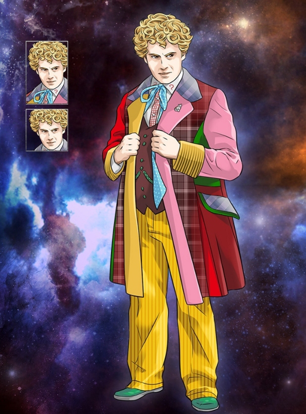 Colin Baker in Doctor Who Legacy