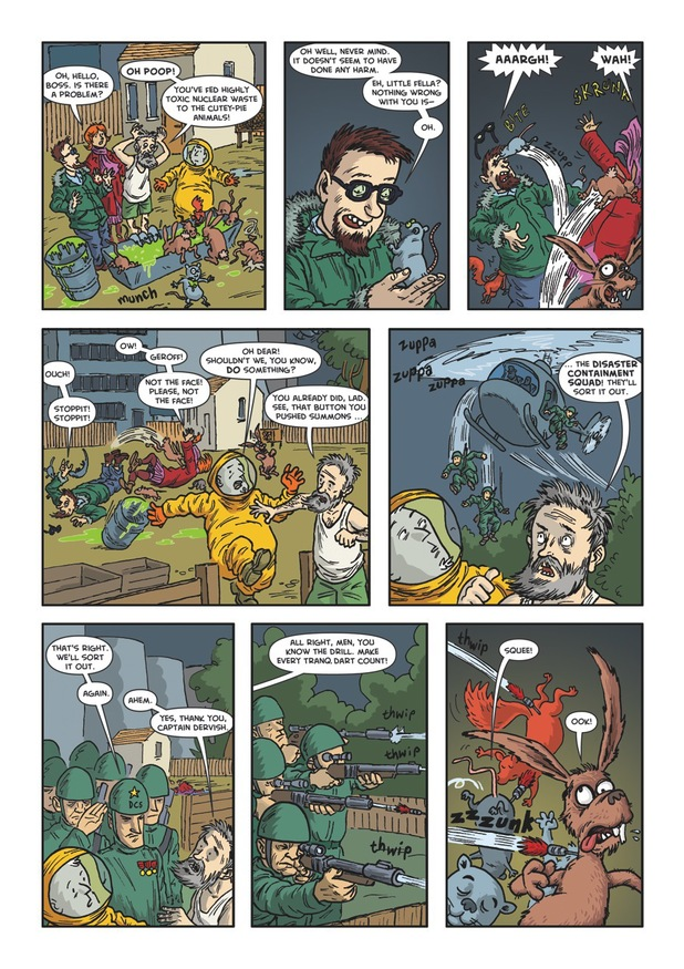 Malcolm Bewley Misadventure 'Radioactive Christmas'
