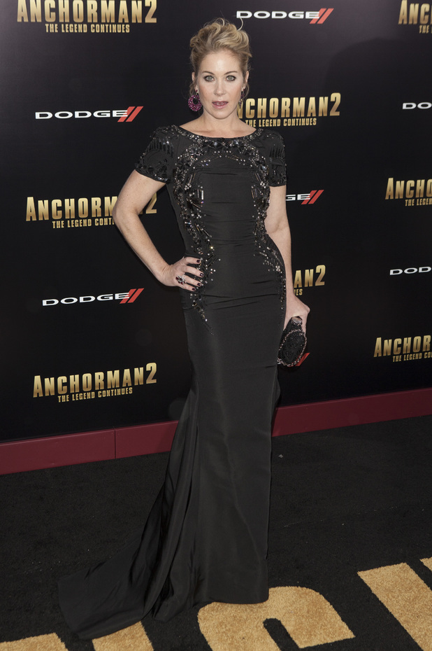 New York premiere of 'Anchorman 2: The Legend Continues' at Beacon Theatre Christina Applegate