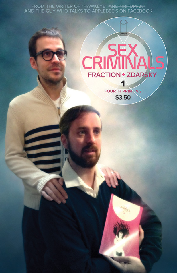 Sex Criminals #1 Fourth Printing
