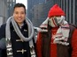 Jimmy Fallon braves snow for SNL - watch