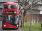Electric buses being trialled in London