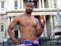 The suave media sensation tours London in just a Union Jack towel on a 'Gentleman Hunt'.