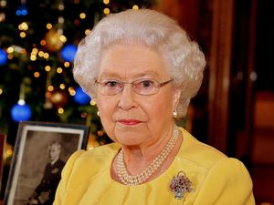 HM Queen Elizabeth II delivers her 2013 Christmas address to the nation and Commonwealth. Photo taken December 12, 2013.