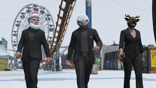 GTA Online's holiday-themed update