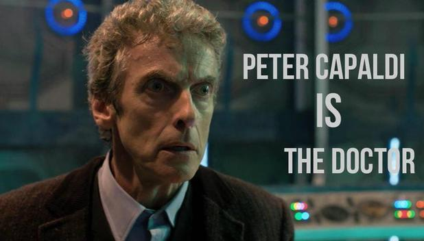 Peter Capaldi as the Doctor