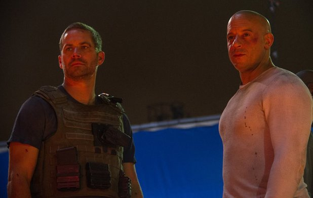 Paul Walker and Vin Diesel in their final scene together