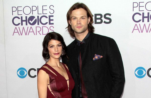 Genevieve Cortese and Jared Padalecki at the 39th People's Choice Awards