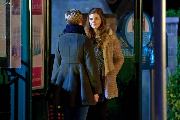 Tilly with Chloe in her final scenes