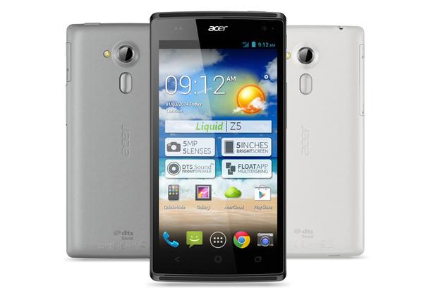 Acer's Liquid Z5 budget smartphone