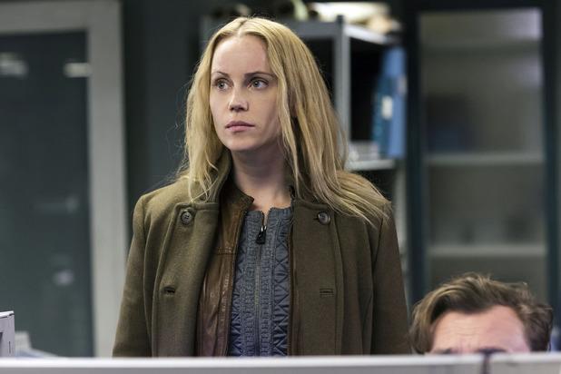 Sofia Helin in 'The Bridge'.
