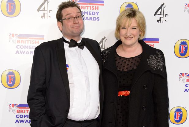 Sarah Millican and Gary Delaney