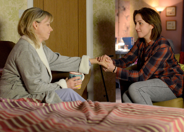 Sonia tells Carol she should do what makes her happy when it comes to David.