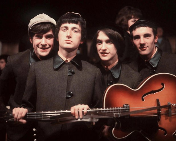 Ray Davies, Pete Quaife, Dave Davies and Mick Avory of The KInks