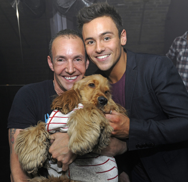 Tom Daley and Jeremy Joseph