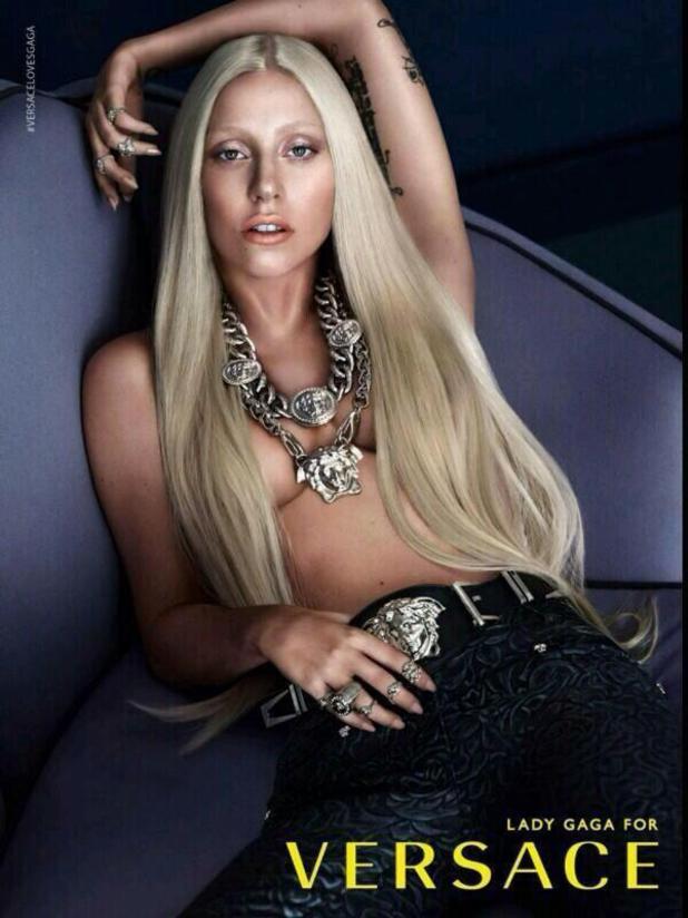 Lady Gaga's Versace ad