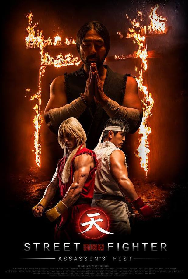 Street Fighter: Assassin's Fist - first poster for live