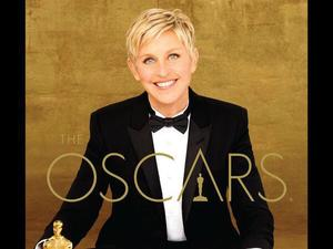 Oscars official poster with Ellen DeGeneres