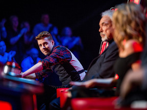 Ricky Wilson, Tom Jones and Kylie Minogue on The Voice UK