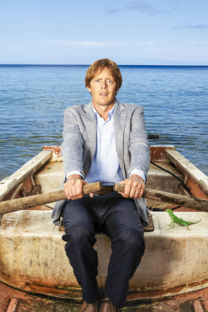 Kris Marshall in 'Death in Paradise'.