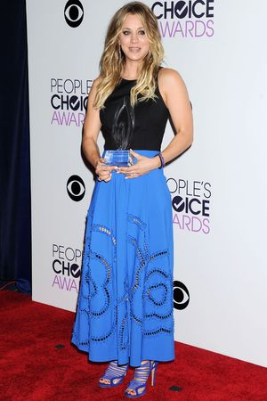 40th People's Choice Awards, Arrivals, Los Angeles, America - 08 Jan 2014 Kaley Cuoco