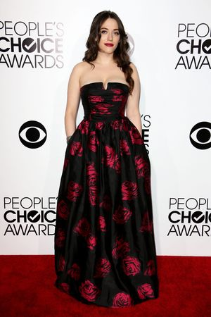 40th People's Choice Awards, Arrivals, Los Angeles, America - 08 Jan 2014 Kat Dennings
