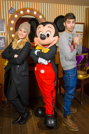 Zayn Malik and Perrie Edwards celebrate Zayn's 21st birthday with a visit to Disneyland Paris, France - 08 Jan 2014