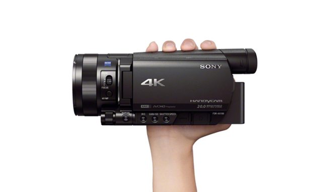 Sony's AX100 4K camcorder