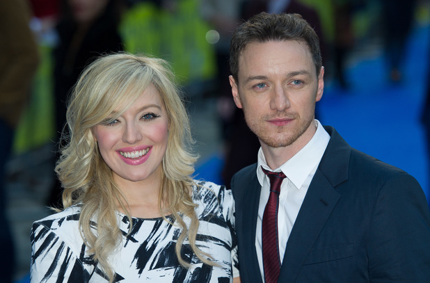 UK premiere of Filth held at the Odeon - Arrivals James McAvoy, Joy McAvoy