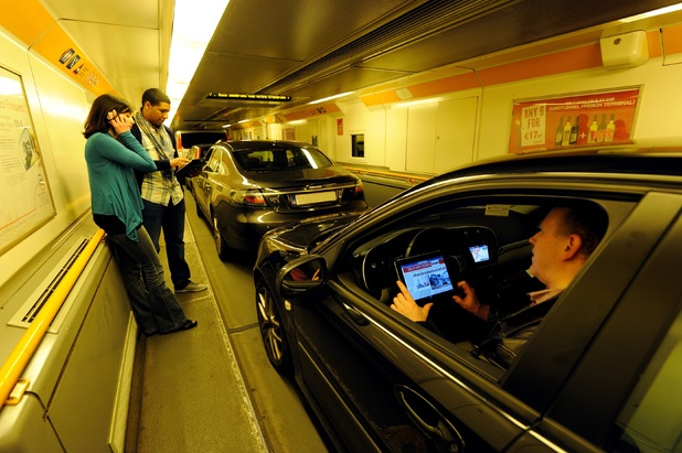 EE and Vodafone are bringing 4G to the Channel Tunnel