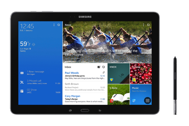Samsung's 12.2-inch Galaxy Note Pro tablet