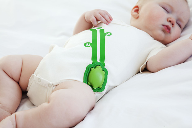 The smart baby onesie (Mimo) from Rest Devices monitors baby's vitals and analyses the data for parents, based on Intel Edison