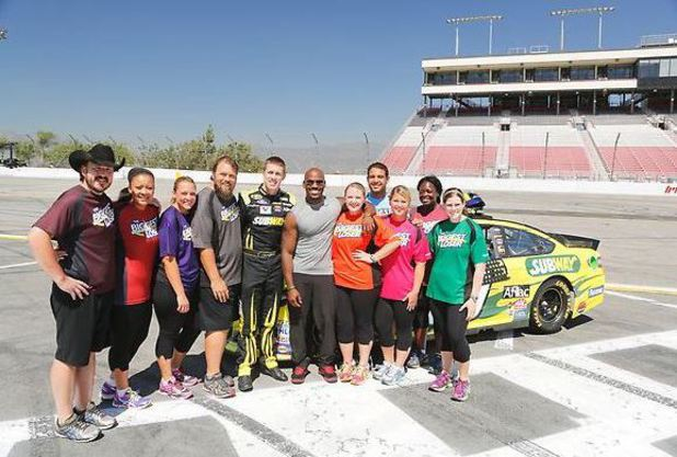 The NASCAR Workout on The Biggest Loser episode 11