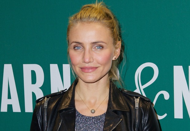 Cameron Diaz Presenting The Body Book: The Law of Hunger, the Science of Strength, Barnes & Noble Union Square