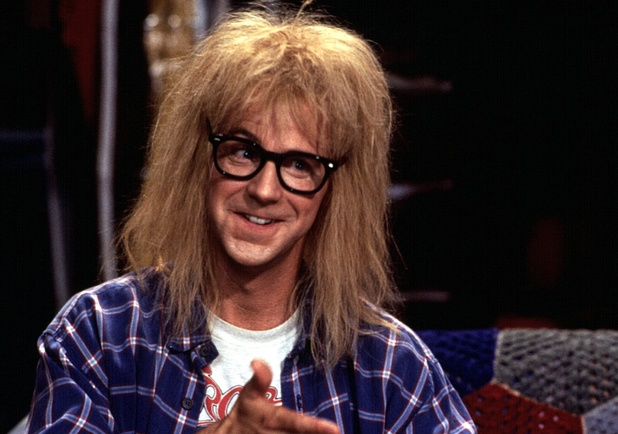 Wayne's World 2' film - 1993 'Wayne's World 2', Dana Carvey 1993
