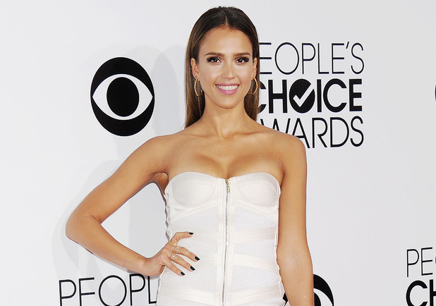 40th People's Choice Awards, Arrivals, Los Angeles, America - 08 Jan 2014 Jessica Alba