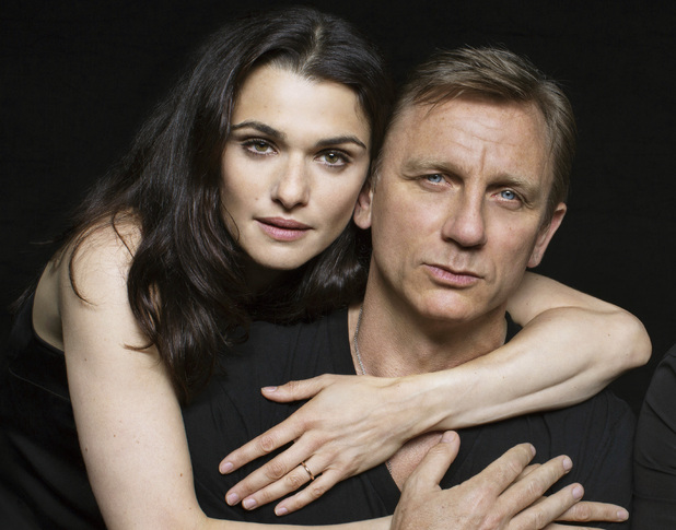 Rachel Weisz and Daniel Craig in a promotional photo for Harold Pinter's Betrayal