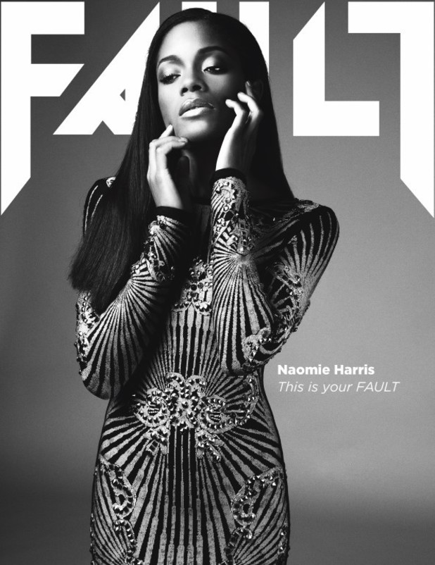 Naomie Harris on the cover of FAULT magazine