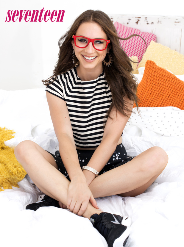 Pretty Little Liars star Troian Bellisario on Seventeen